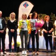 Livia podium 1° féminine du 90km