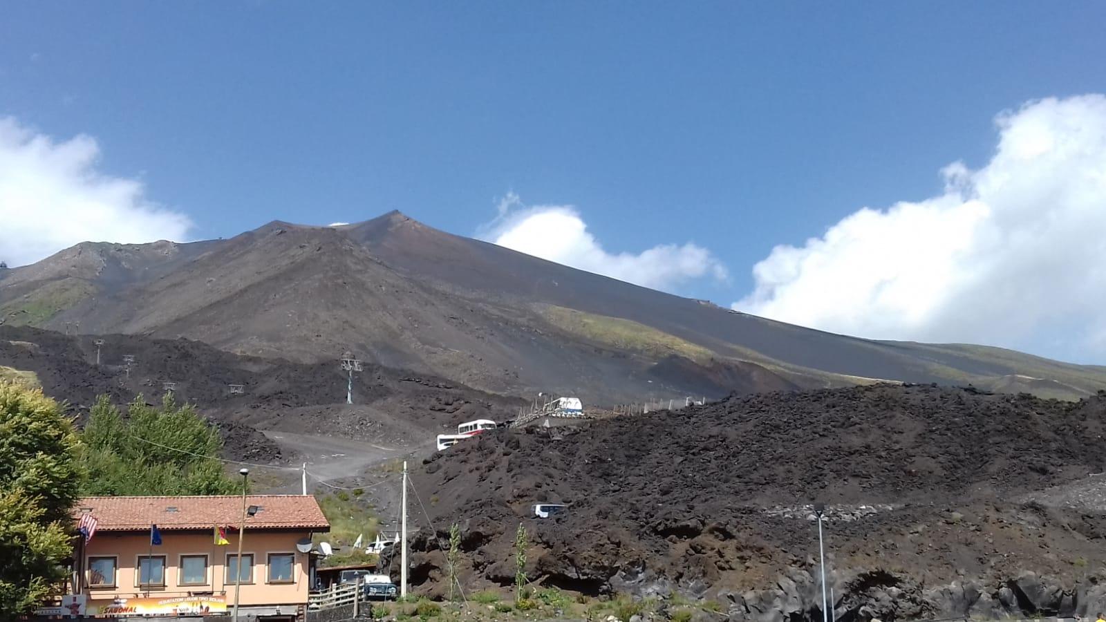 Face de l'Etna